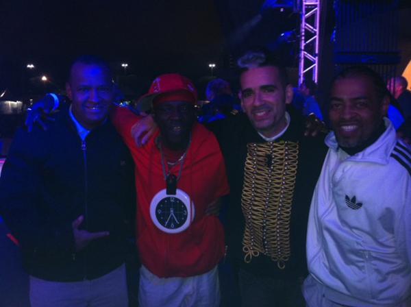 Jay, Flavor Flav, Max de Castro & Thaide