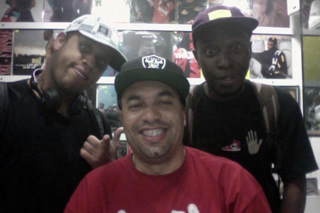 Kamau, DJ R Jay & DJ Niack(Emicida)