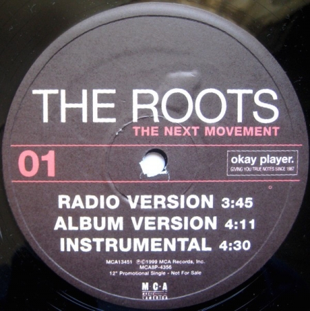 The Roots ‎– The Next Movement / Without A Doubt