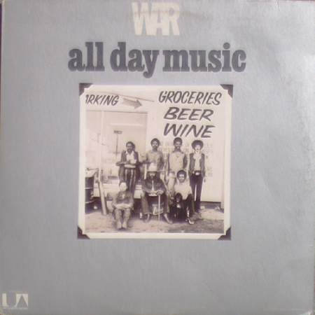 War ‎– All Day Music