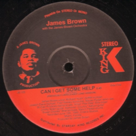 James Brown Orchestra ‎– Can I Get Some Help / Get It Together