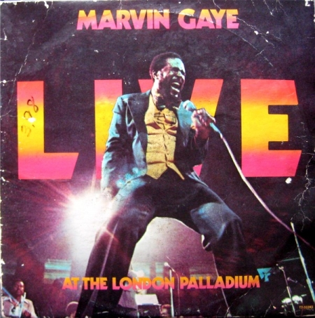 Marvin Gaye ‎– Live At The London Palladium