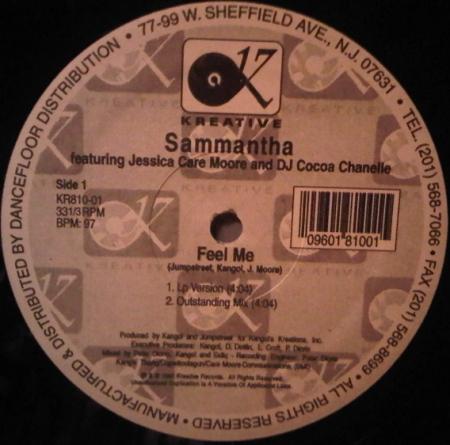 Sammantha – Feel Me