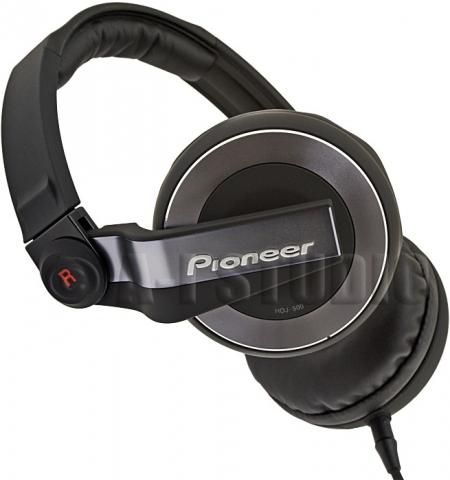 Fone Pioneer HDJ500 - Preto e Prata