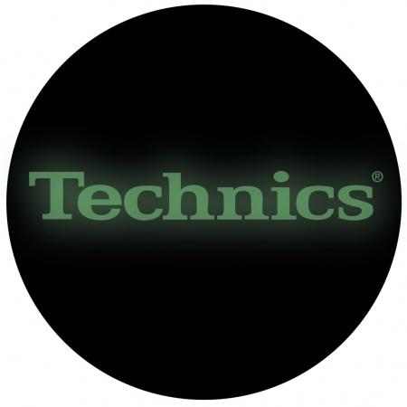 Feltro Technics Especial Glow Espessura Media BRILHA NO ESCURO (O PAR)