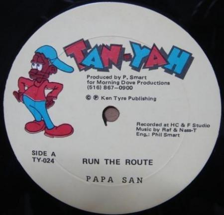 Papa San – Run The Route