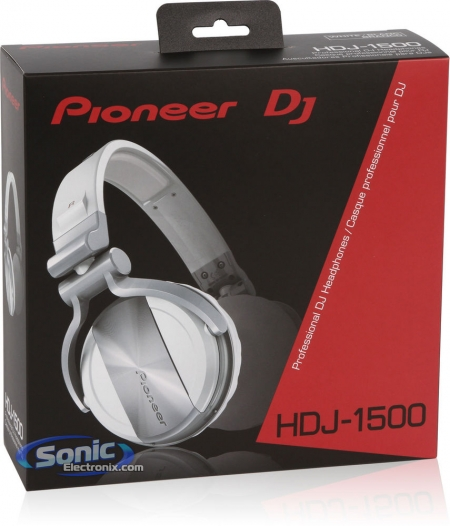 Fone Hdj 1500 - Pioneer (Branco)
