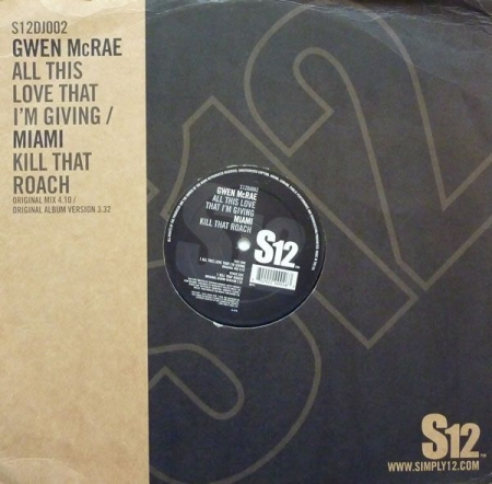 Gwen McCrae / Miami ‎– All This Love That I'm Giving / Kill That Roach