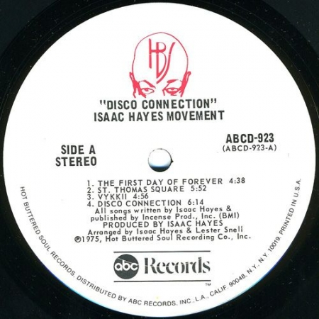 Isaac Hayes Movement ?– Disco Connection