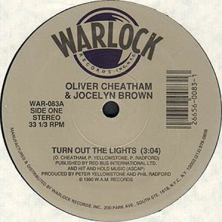 Oliver Cheatham & Jocelyn Brown ‎– Turn Out The Lights / Somebody Else's Guy