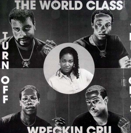 World Class Wreckin' Cru ‎– Turn Off The Lights
