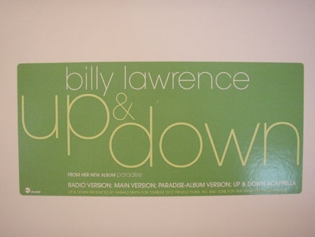 Billy Lawrence ?– Up & Down