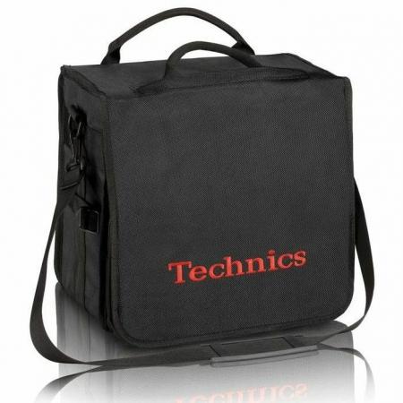 Bag Technics Preta Vermelha