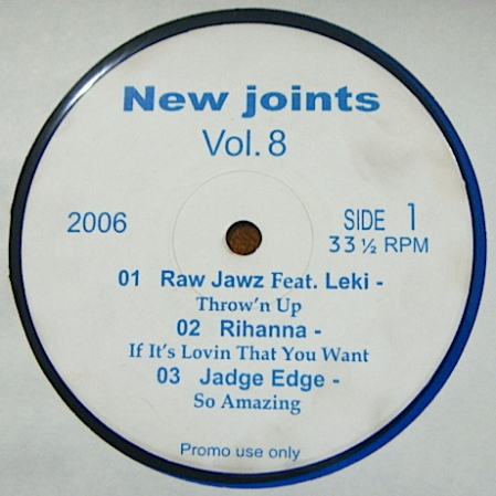New Joints Vol.8