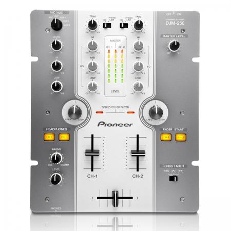 Mixer Pioneer DJM 250 (Prata)