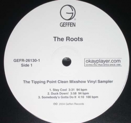 The Roots - The Tipping Point Clean Mixshow Vinyl Sampler