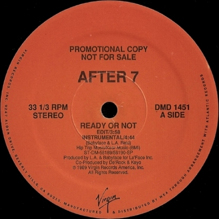 After 7 ‎– Ready Or Not