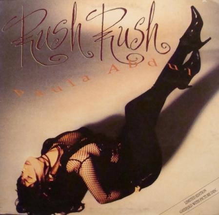 Paula Abdul – Rush Rush ( Disco Picture)