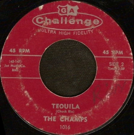 The Champs – Train To Nowhere / Tequila
