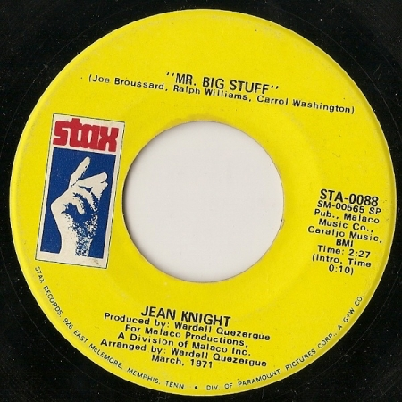 Jean Knight ‎– Mr. Big Stuff