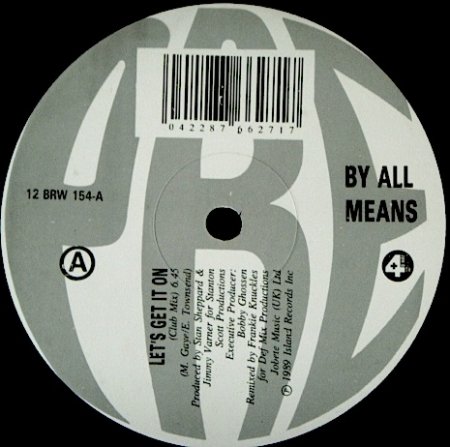 By All Means - Let's Get It On