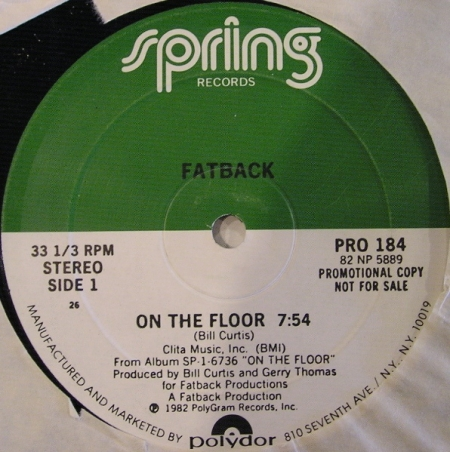 Fatback ?– On The Floor