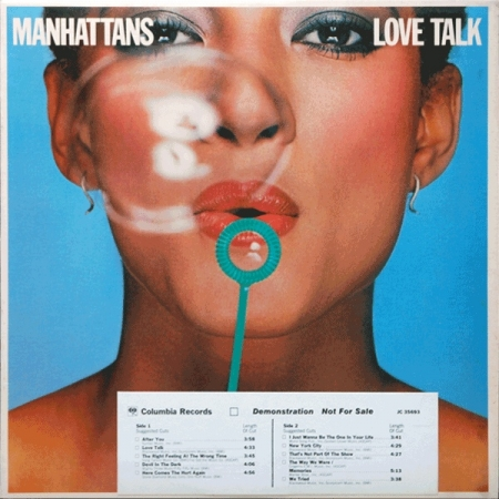 Manhattans ‎– Love Talk