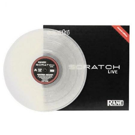 Vinyl Time Coded Serato - Transparente