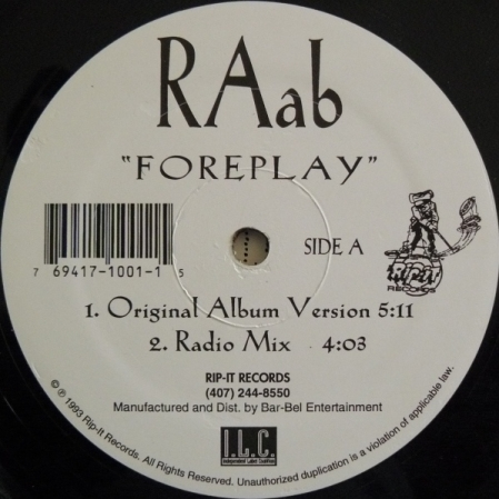 RAab ‎– Foreplay