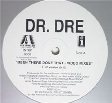 Dr. Dre ‎– Been There Done That - Video Mixes (VALSA VERSION)