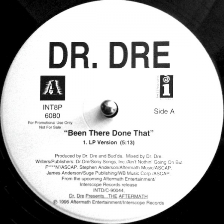 Dr. Dre ‎– Been There Done That