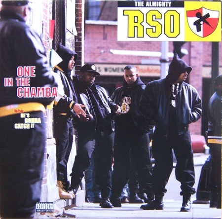 The Almighty RSO ‎– One In The Chamba / He's Gonna Catch It