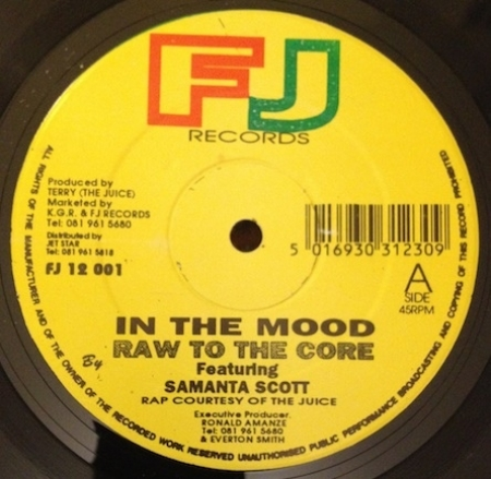 Raw To The Core - In The Mood (Feat Samantha Scott)