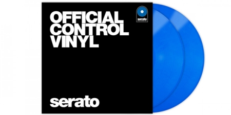 Timecode Serato Control Vinil Performance Azul (O Par)
