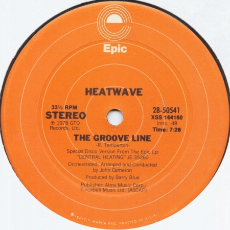 Heatwave ‎– The Groove Line