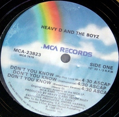 Heavy D And The Boyz - Don't You Know