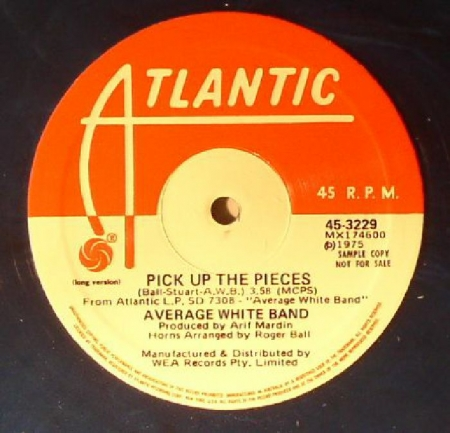 Average White Band  AWB ‎– Pick Up The Pieces