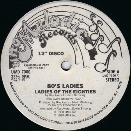 80's Ladies* ‎– Ladies Of The Eighties