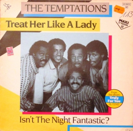The Temptations ‎– Treat Her Like A Lady