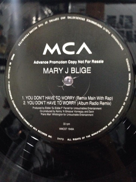 Mary J Blige - You Dont Have To Worry