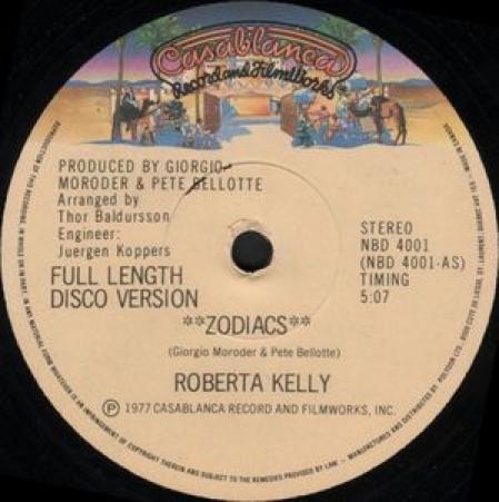Roberta Kelly – Zodiacs