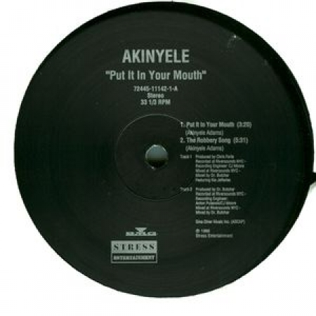 Akinyele Put It In Your Mouth EP