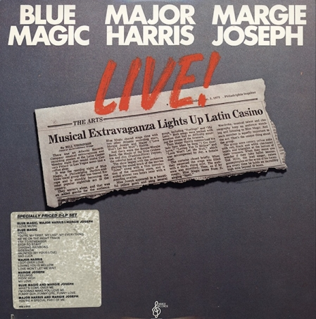 Blue Magic / Major Harris / Margie Joseph ‎– Live!