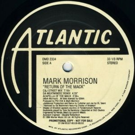 Mark Morrison ‎– Return Of The Mack