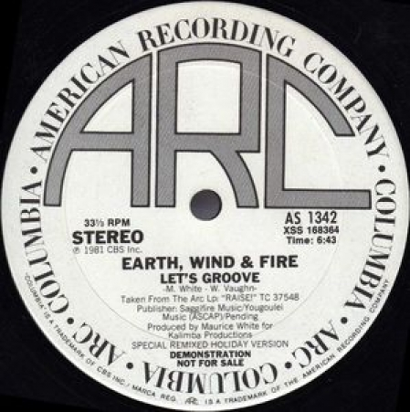 Earth Wind & Fire ?– Let's Groove (Special Radio Re-Mix)