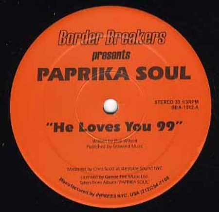 Paprika Soul ?– He Love You 99