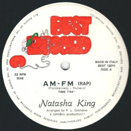 Natasha King ‎– AM-FM (Rap)