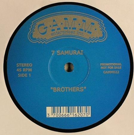 7 Samurai – Brothers / Marlies & Marcus