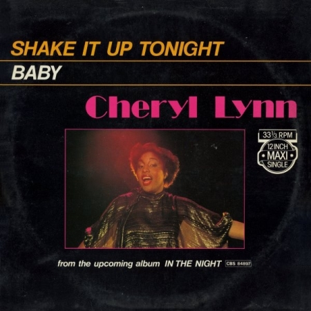 Cheryl Lynn ‎– Shake It Up Tonight