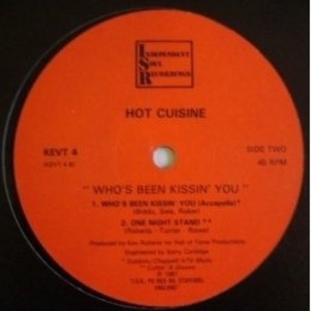 Hot Cuisine ‎– Who's Been Kissing` You (Glashouse Mix)